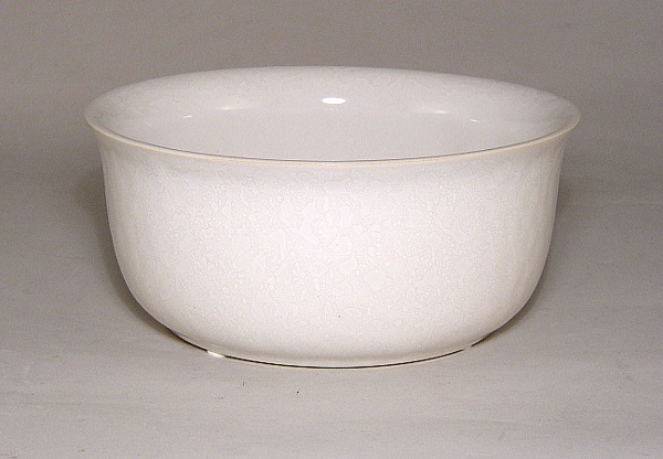 "Picture of White Ceramic Bowl  Round  | 7""Dx3""H 