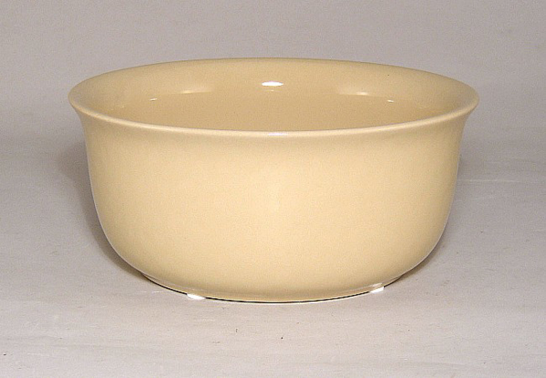"Picture of Beige Ceramic Bowl Round  | 7""Dx3""H 