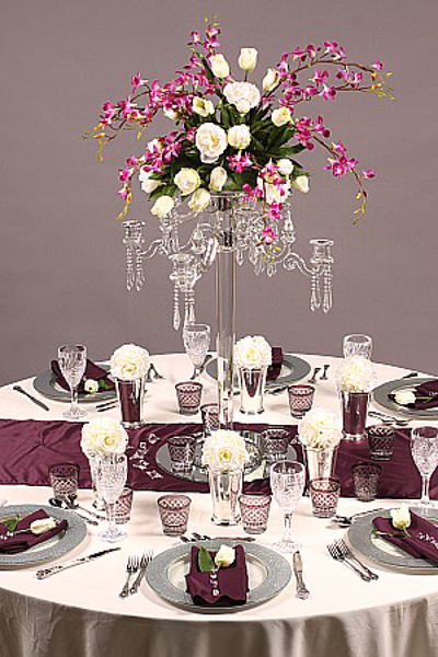 Picture of Tablescape with Crystal Candelabra #20221