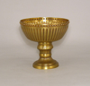 """Picture of Antique Gold Bowl with Pedestal  Set/2 