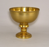 """Picture of Antique Gold Bowl Smooth Bead Border  Set/2  