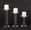 """Picture of Crystal Ball Candle Holders Set/2  