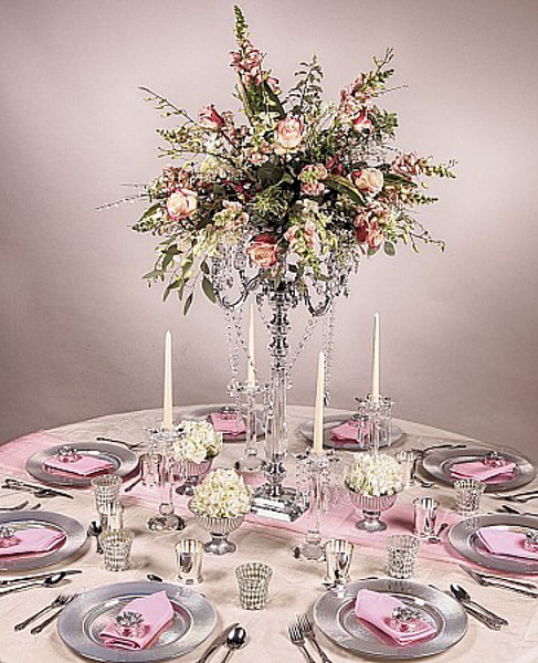 Picture of Tablescape with Crystal Candelabra #22