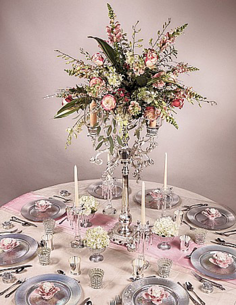 Picture of Tablescape with Silver Plated Candelabra #51595
