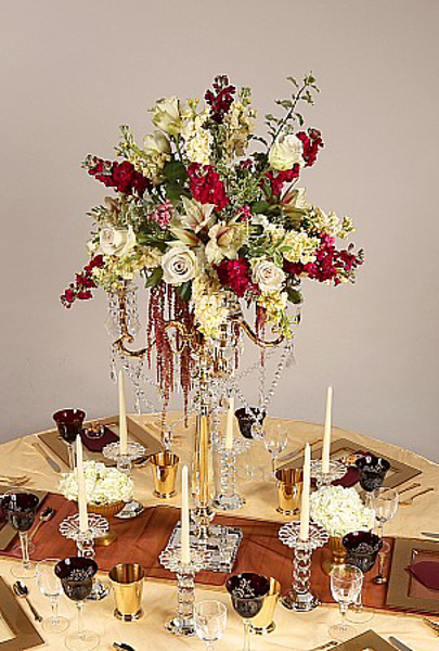 Picture of Tablescape with Crystal Candelabra #20220
