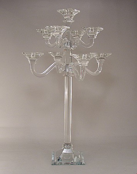 "Picture of Crystal Candelabra 9-Light  19""Wx34""H  #K20231"