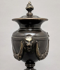 """Picture of Bronze Finish on Brass Unique Decorative Accent Finial Triangle Base  
