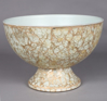 """Picture of Sea Green Bowl Compote Vase Irregular Shaped Glass Chips Mosaic Pattern 