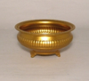 """Picture of Antique Gold Low Bowl Lines 