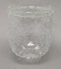 "Picture of Clear Glass Shade Crackle 6.5""Dx8.5""H  #69014G"