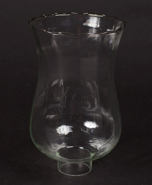 """Picture of Clear Glass Hurricane Shade for Candle Holders or Candelabras 