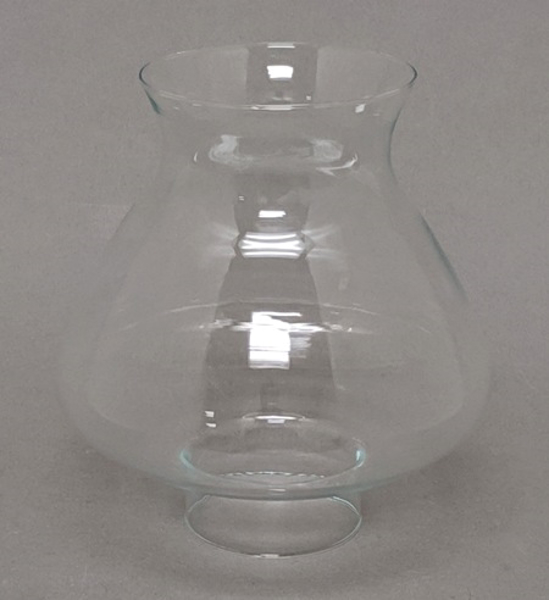 "Picture of Clear Glass Shade 7""Dx7.5""H  #K25280"