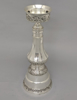 """Picture of Silver Plated on Brass Candle Holder Square Set/2  