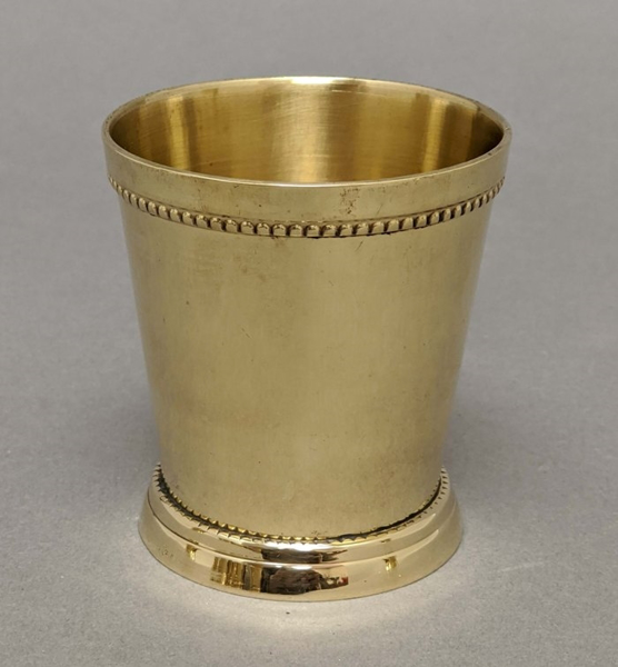 "Picture of Julep Cup Polished Brass 2.5""Dx2.75""H   #99606X  SOLD AS IS"