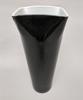 "Picture of Black Vase Glass Square Top Floral Centerpiece  | 6.25""Dx15""H |  Item No. 12206"