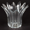 """Picture of Votive Holder Clear Glass Lilly Shaped Set of 4 