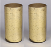 "Picture of Gold Mercury Glass Cylinder Vase Set/2  | 4""Dx8""H 