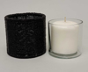 """Picture of Black Bead Votive Candle Holder with Glass Insert Set of 2   4""""Dx4""""H   Item No. 20415"""