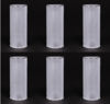 "Picture of Cylinder Votive Candle Holder with LED Lights Set of 6 I 2.5""Dx6""H I Item No. 20104"