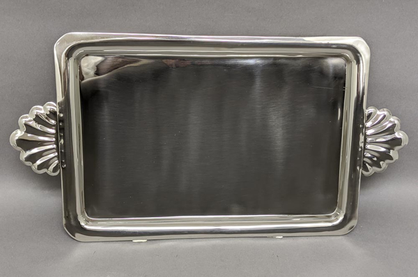 """Picture of Tray Stainless Steel Serving Shell Handles   
