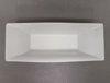 """Picture of White Ceramic Rectangle Bowl Container  