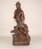 """Picture of Bronze Statue of Artemis Greek Goddess of Hunt & Chastity 