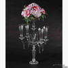 """Picture of Candelabra Crystal Four Arms and Bowl   20""""W x 33.5""""H   Item No. 20217"""