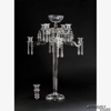 """Picture of Crystal Candelabra Eight Light w/Bowl or Nine Light 