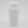 """Picture of White Vase Glass Taper with Rim Floral Centerpiece Set/2  