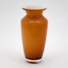 """Picture of Amber Vase Glass Taper with Rim Floral Centerpiece Set/2  