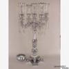 "Picture of Aluminum Candelabra 4 Light & Bowl or 5 Light | 17.5""W x 35""H | Item No. 51561"