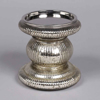 "Picture of Silver  Candle Holder Mercury Glass for Pillar Candles | 4""Dx6""H 