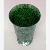 "Picture of Green Vase Mosaic Glass Trumpet Centerpiece  | 6""Dx9.5""H |  Item No. 67105"