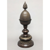 """Picture of Bronze Finish on Brass Unique Decorative Accent Finial Pineapple    6.5""""Dx17""""H    Item No. 83203"""