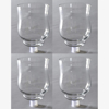 """Picture of Clear Glass Peg Votive Candle Holders Set of 4  