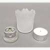"""Picture of Votive Candle Holder Frosted Glass Tulip Set of 12   2.25""""Dx2.25""""H   Item No. 28802"""