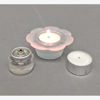 """Picture of Votive Candle Holder Frosted Glass Daisy Set of 12  