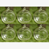 """Picture of Hanging Votive Holder Clear Glass Orb  Set on 6   4""""Diameter   Item No.20016"""