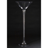"""Picture of Clear Glass Martini Vase with Long Stem   12""""Dx32""""H    Item No. 18002"""