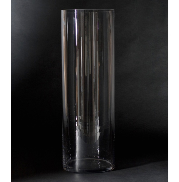 """Picture of Clear Glass  Vase Cylinder Round  Centerpiece 