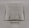 """Picture of Clear Glass Vase Square with Flare Top   6""""Dx12""""H   Item No. 18211"""