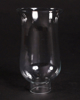 """Picture of Clear Glass Hurricane Shade for Candle Holders or Candelabras Set/2   3.5""""Dx6.5""""H    Item No. 20341"""
