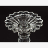 """Picture of Crystal Ball Candle Holders Graduated Set/3    4""""D , 8""""-10""""- 12""""High    Item No. 20277"""